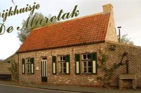 Vakantiehuisje 'Dijkhuisje De Maretak'
