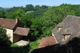 Balcon en Dordogne