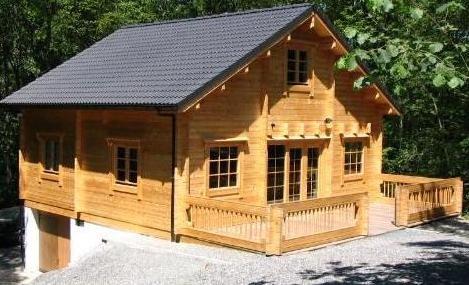 Vakantiewoning in barvaux sur ourthe chalet alppimaja for Chalets te koop ardennen particulier