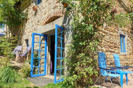 Romantisch huisje 'Gîte Les Fayes'