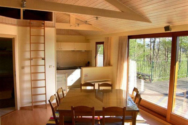 Vakantiewoning in durbuy chalet erica for Chalets te koop ardennen particulier